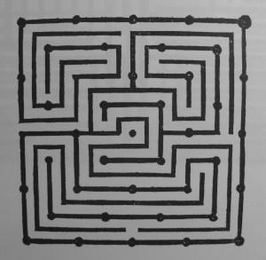 Johann Peschel: the diagram of the garden from doctor Caspar Ratzenberger in Naumburg. Reducing complexity of spacial phenomena, Garten-Ordnung 1597.